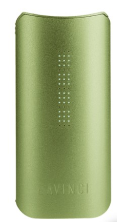 davinci iq vaporizer in green
